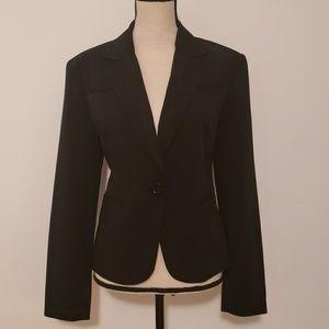 George womans black stretch suit jacket/blazer.